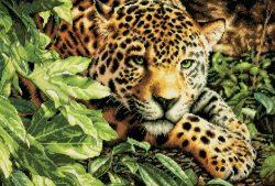 Giaguaro a punto croce